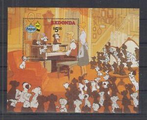 S834. Redonda - MNH - Cartoons - Disney's - 101 Dalmatians