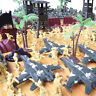 Kids Military Soldiers Toy Kit Army Men Figures Accessories Model Playset Gift