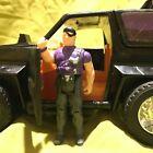 Vintage Kenner MASK 1985 JACKHAMMER Vehicle w/ Cliff Dagger figure