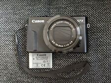 Canon PowerShot G7 X Mark II Digital Camera w/ Battery, Strap, Case  Barely Used
