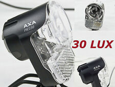 LED Fahrradlampe Nabendynamo Fahrrad LED Scheinwerfer AXA Pico Switch 30 Lux