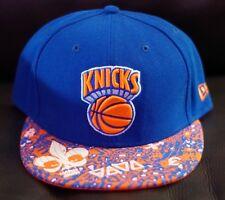 NEW ERA NEW YORK KNICKS BLUE ORANGE FITTED HAT CAP 59FIFTY MEN SIZE 7 1/2