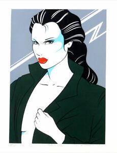 David Thamin Melissa Hand Signed 1979 Silkscreen Art Print
