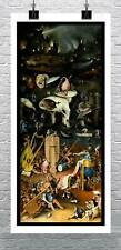 Hell By Hieronymus Bosch Fine Art Giclee Print on Canvas or Paper