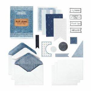 Creative Memories Denim Card Kit (makes 12 cards) ~ NEW! |FREE SHIPPING!