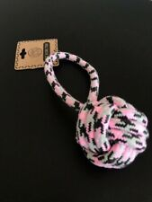 """PET ROPE TOYS FOR DOGS 9 Inch """"medium"""" Top Dog Toy 3.5 Inch Ball !"""