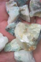 Rare Ajoite Rough Quartz 100 grams Mixed PiecesParcel from Messina South Africa