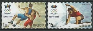 Moldova 2021 Summer Olympic Games - Tokyo 2020 2 MNH stamps