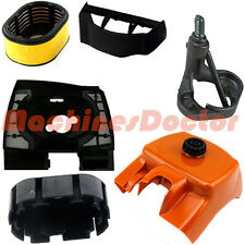 Air Filter Cover Base Flange Air Baffle For Stihl 066 065 MS660 MS650 Chainsaw