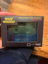 SPACE INVADERS Mini Alien Vinyl Figure Loot Crate EXCLUSIVE