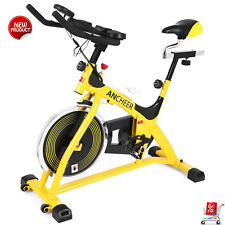 Professional Indoor Cycling Bike Belt Drive With 40 lbs Flywheel &  LCD Monitor