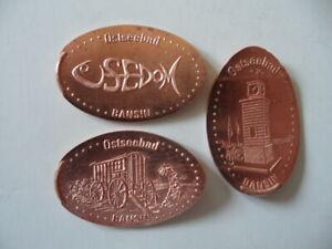 Elongated Coin Bansin Komplettsatz 2