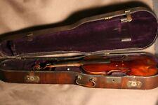 Beau violon Allemand ancien vers 1850 dans un bel étui - fine old German violin.