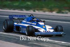 Jacques laffite ligier JS7 F1 saison 1977 photographie 5