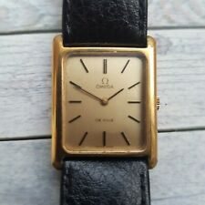 Vintage Omega De Ville Tank Watch With Papers