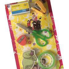 6pcs Set Child Stationery Mini Stapler Eraser Scissors Sharpener Tape SBPSE 9820
