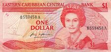 East Caribbean States  $1  ND. 1985  P 17a  Series A  Circulated Banknote K618LB