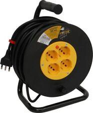 Prolunga Elettrica Avvolgicavo 4 Prese Cavo mt. 25 Globex OXP-18GI