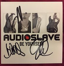 Audioslave Be Yourseld Cd Signed No Chris Cornell