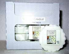 "Box Lot of 24 Yankee Candle Simply Home ""WHITE LINEN &  LACE"" Tarts Wax Melts"