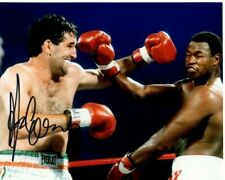 GERRY COONEY Signed Autographed w/ LARRY HOLMES BOXING Photo