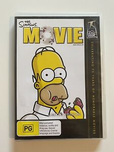 The Simpsons Movie (DVD, Region 4, 2007) Limited Edition