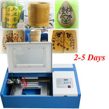 40W CO2 USB Laser Engraving Cutting Machine Engraver Cutter woodworking/crafts