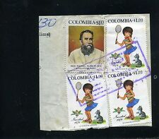 RAFAEL NUNEZ  -NAVIDAD''' frag cover ''CORREO RURAL'' LIBANO {T}  1975
