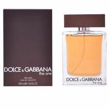 DOLCE & GABBANA THE ONE FOR MEN 100ML EAU DE TOILETTE SPRAY BRAND NEW & SEALED