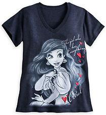 Disney Store Little Mermaid Ariel Adult T - Shirt Size ( M )