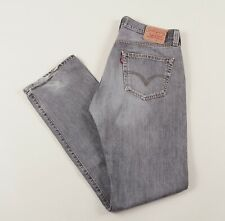 Vintage LEVI'S 501 Grey Regular Straight Mens Jeans 32W 32L 32/32 /J33042