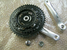 CYCLE CHAINSET CHAIN RINGS SET & CRANK ARMS TRIPLE 24 / 34 / 42 x 170mm (341)
