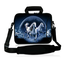 "15"" Horse Laptop Shoulder Bag Case Cover For 15.5"" 15.6"" HP Acer DELL Sony ASUS"