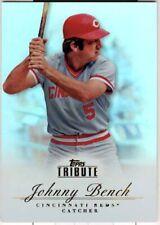 2012 TOPPS TRIBUTE BASEBALL - JOHNNY BENCH #5
