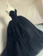 New Quinceanera Wedding Dress Bridal Gown Black Formal Party Pageant Gown Custom