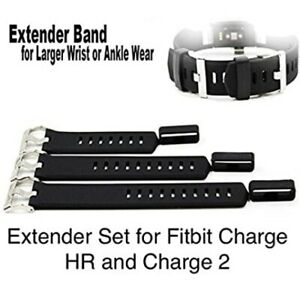 Extender XL Extra Large Band Set Parts for Fitbit Charge / HR / 2  and Versa
