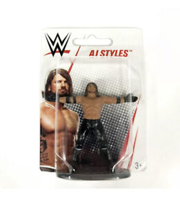"Mattel WWE Micro Collection AJ STYLES Wrestling 3"" Figure"