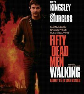 Fifty 50 Dead Men Walking DVD Irish Political Thriller IRA Movie - Ben Kingsley
