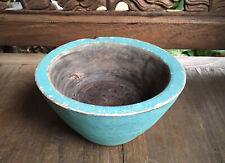 Handcarved Rustic Tribal Timber Bowl -Boho