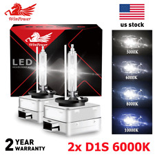 2x D1S 6000K White D1R D1C HID Xenon Light Headlight OEM Replacement Bulbs USA