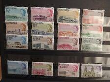 ANTIGUA 1966-70 SET OF SIXTEEN  UM MINT SG 180/195 CAT £55