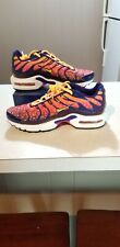 Nike Air Max Plus Athletic Sneakers Purple Laser Orange Size 7Y=8.5Women🔥NWOT