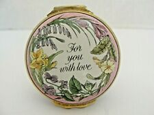 Halcyon Days For You With Love ,Special Day Mother Days 1987 Box .