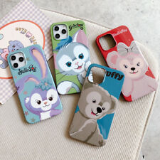 Cute Cartoon Disney Duffy Bear case Cover for iPhone 12 11 Pro Max XS XR 6S 7 8+