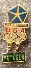Lillehammer 1994 Olympic Pin ~ Chrysler Voyager ~ by HoHo NYC ~ Car ~ Auto