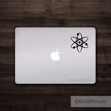 Atom - Vinyl Decal Car Truck Mac Sticker Graphic Science Atheist Einstein