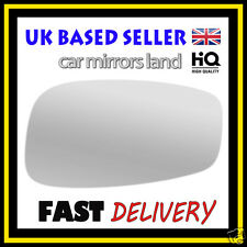 For Fiat Stilo 01-07 Left passenger side Aspheric wing mirror glass with plate