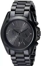Michael Kors Men's Bradshaw Chronograph Black Stainless Steel Watch MK5550