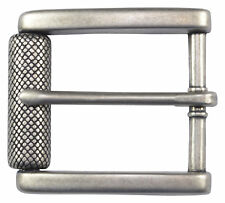 """Antique Silver Roller Belt Buckle for 1 1/2"""" or 38mm Beltts"""