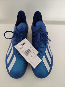 Adidas X 19.1 FG - Taglia 42 (8 UK 8,5 US) - Blue - Nuove con etichetta